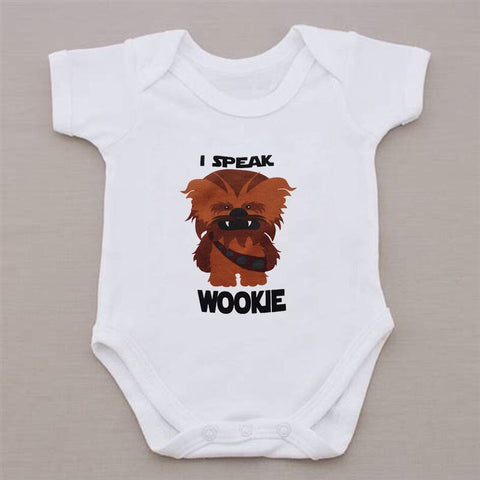 """I Speak Wookie Monster"" Romper"