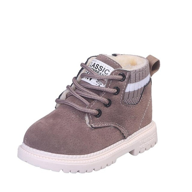 Ollie Winter Boots | Grey