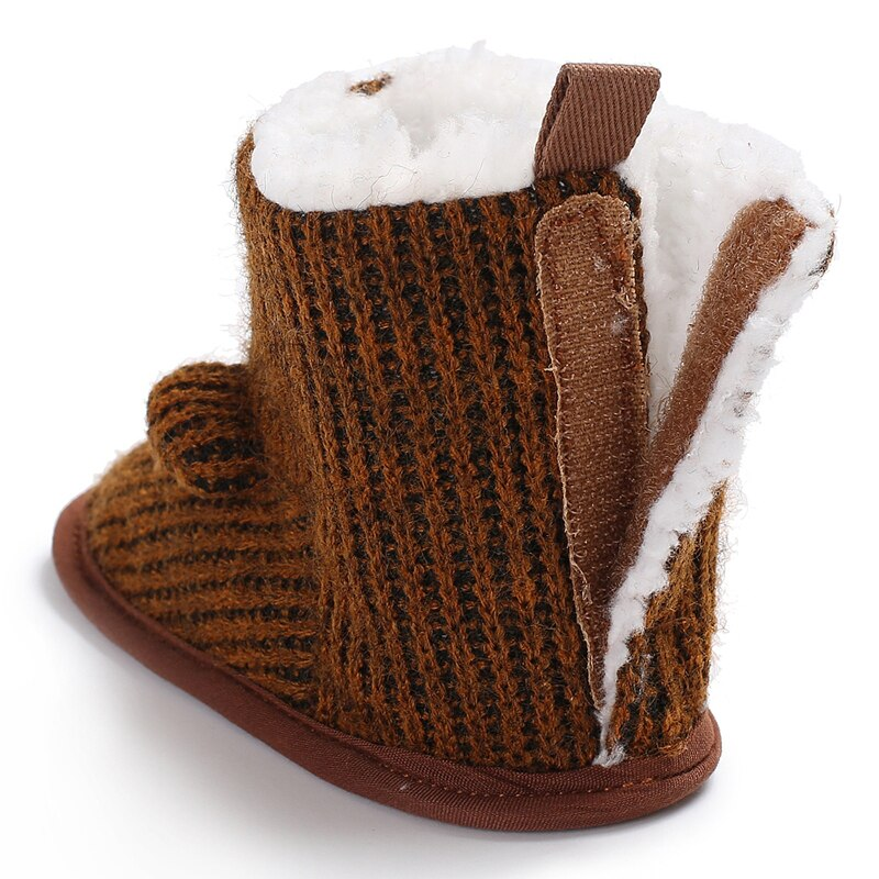 Bear-y Cozy Slipper Boots