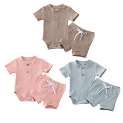 Ribbed Cotton Summer Set