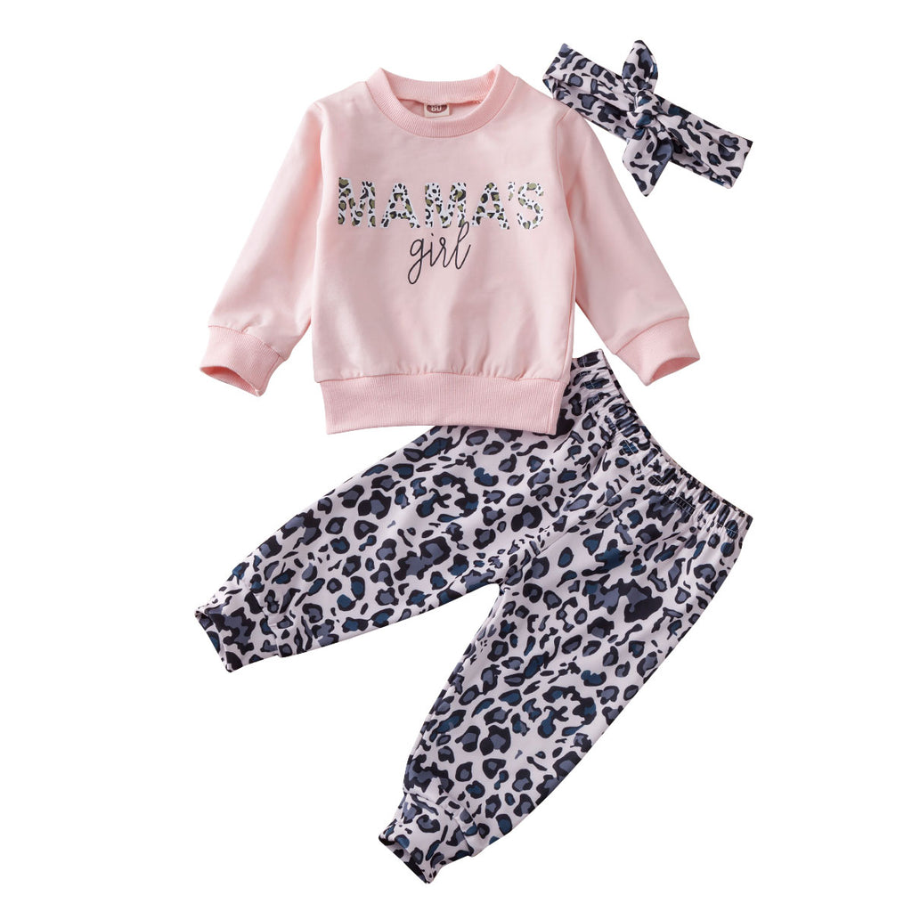 Mama's Girl Leopard Pant Set