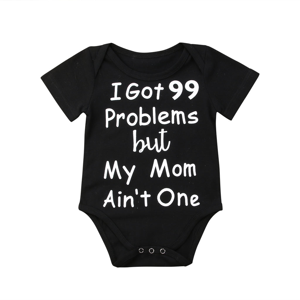 """I got 99 problems "" Romper"