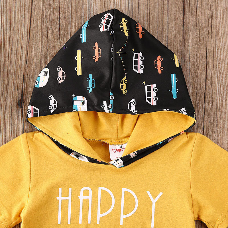 'Happy Camper' Summer Hoody Outfit
