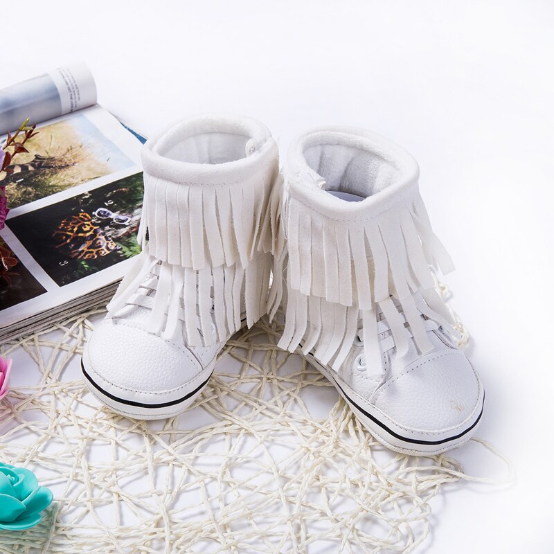 Fringe Winter Sneakers