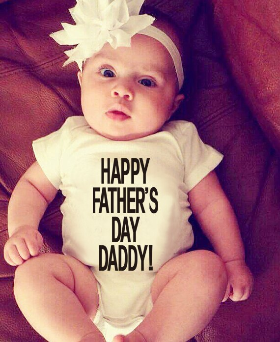 """Happy Father's Day Daddy"" Romper"