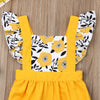Image of Amelia Sunflower Romper