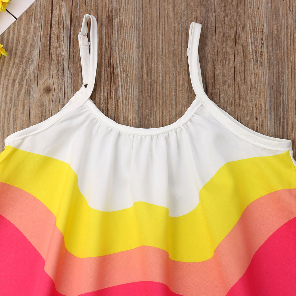 PAIGE COLORFUL BEACH SUNDRESS