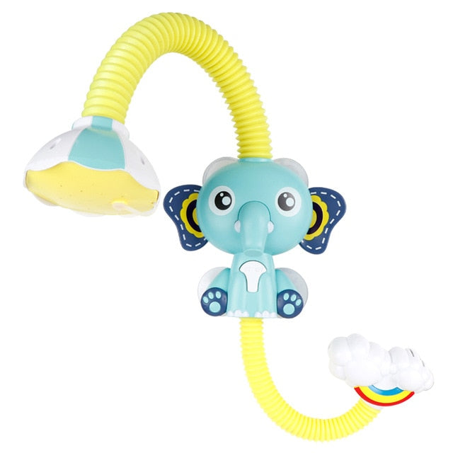 Flunna™ Cute Elephant Baby Bath Shower Head
