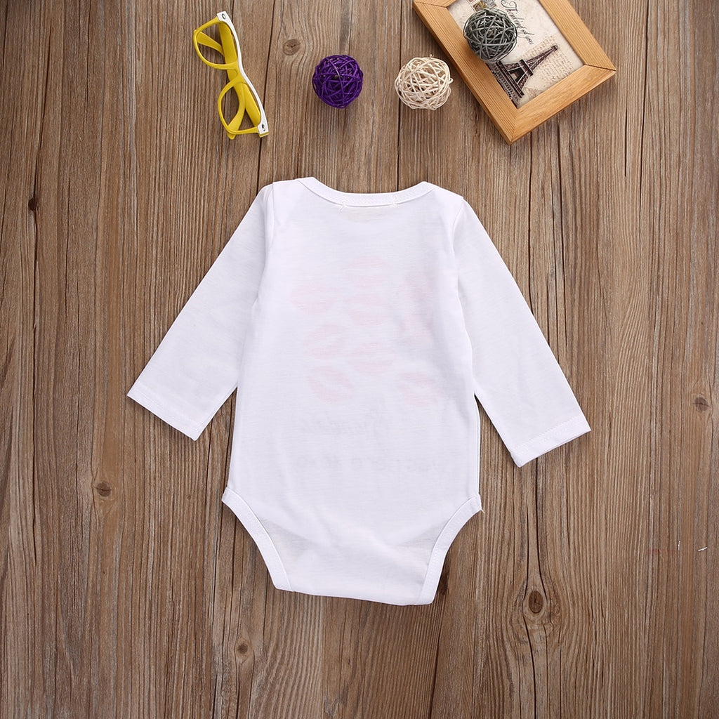 """Grandma Was Here"" Romper"
