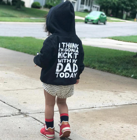 Kick It With Dad Sweatshirt