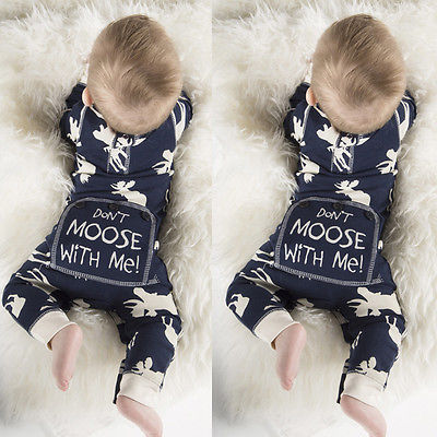 Don't Moose With Me Moose Romper - 50% OFF! (Limited Time Offer)