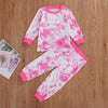 Image of Erin Tie-Dye Set - Pink