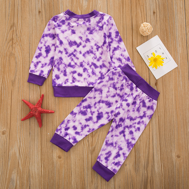 Eva Tie Dye Set - Purple