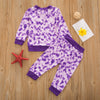 Image of Eva Tie Dye Set - Purple