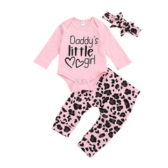 Daddy's Little Girl Set - Pink