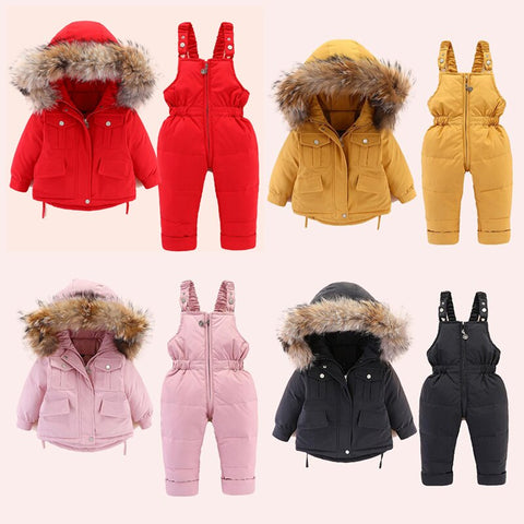 Bally Hooded 2-Piece Snowsuit Set