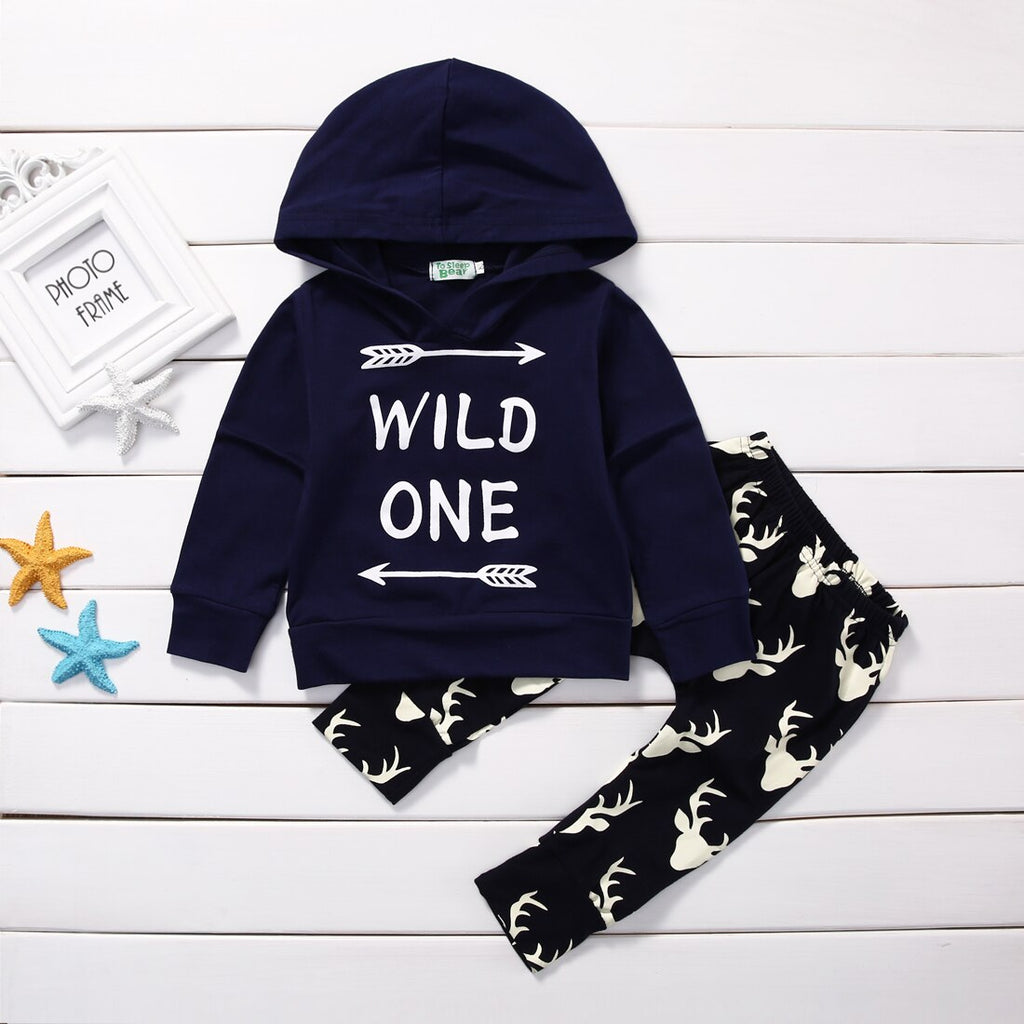 2 PIECE 'WILD ONE' HOODY OUTFIT