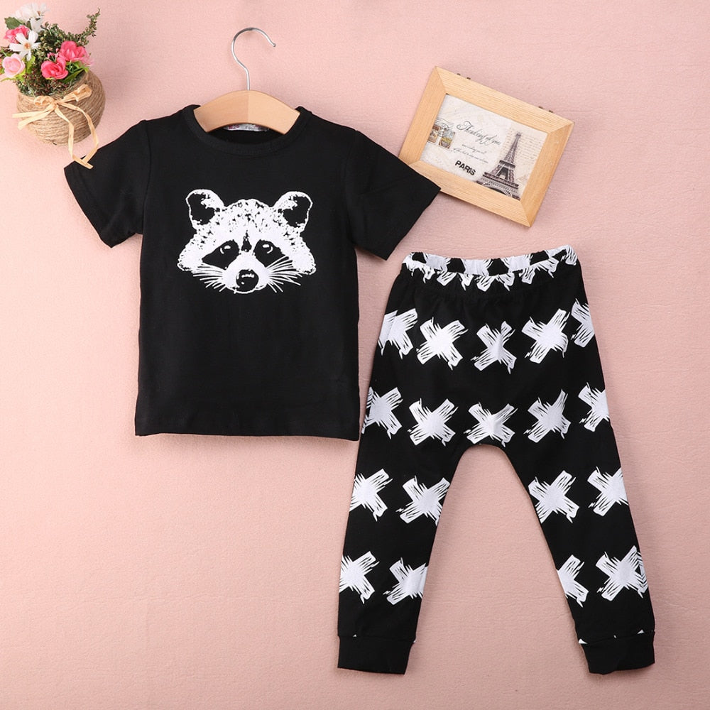 2 PIECE 'RACOON' OUTFIT