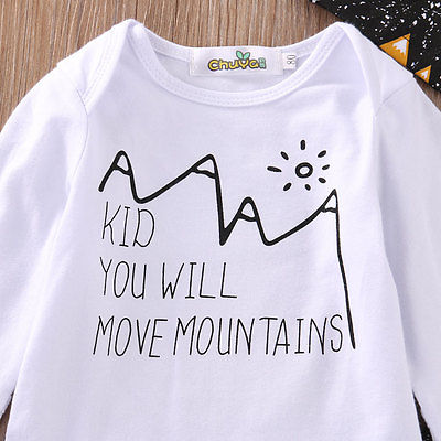 'KID YOU WILL MOVE MOUNTAINS' OUTFIT