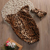Image of Cute Leopard Romper Headwear - 2 pcs