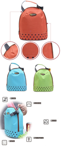 VIVID COLORS BABY COOLER BAG