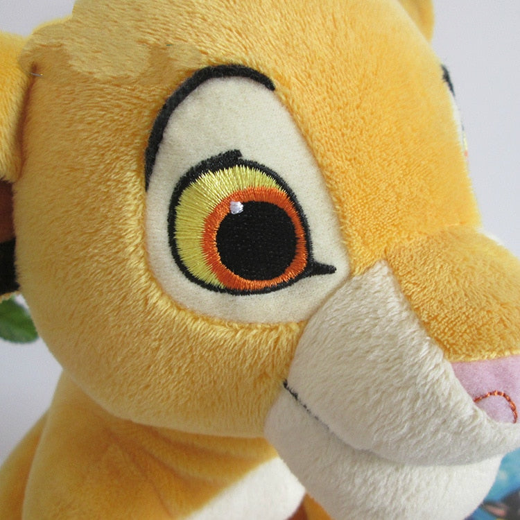 Cute Sitting Lion King Plush Toys
