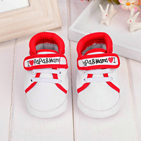 CANVAS SNEAKERS FIRST WALKER BABY SHOES