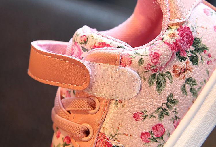 Baby Floral Sneakers