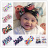 Image of Luxury Soft Retro Baby Headwrap Floral Collection 1