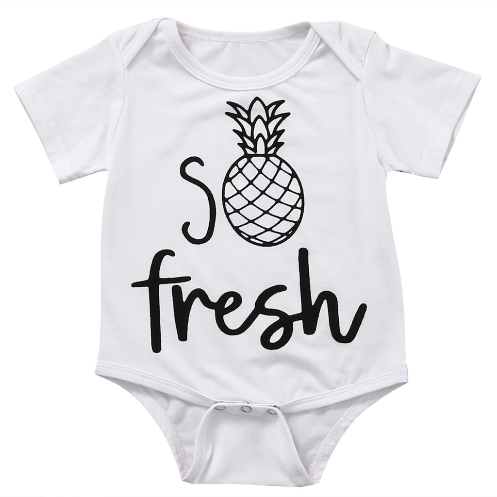 Fresh pineapple Romper