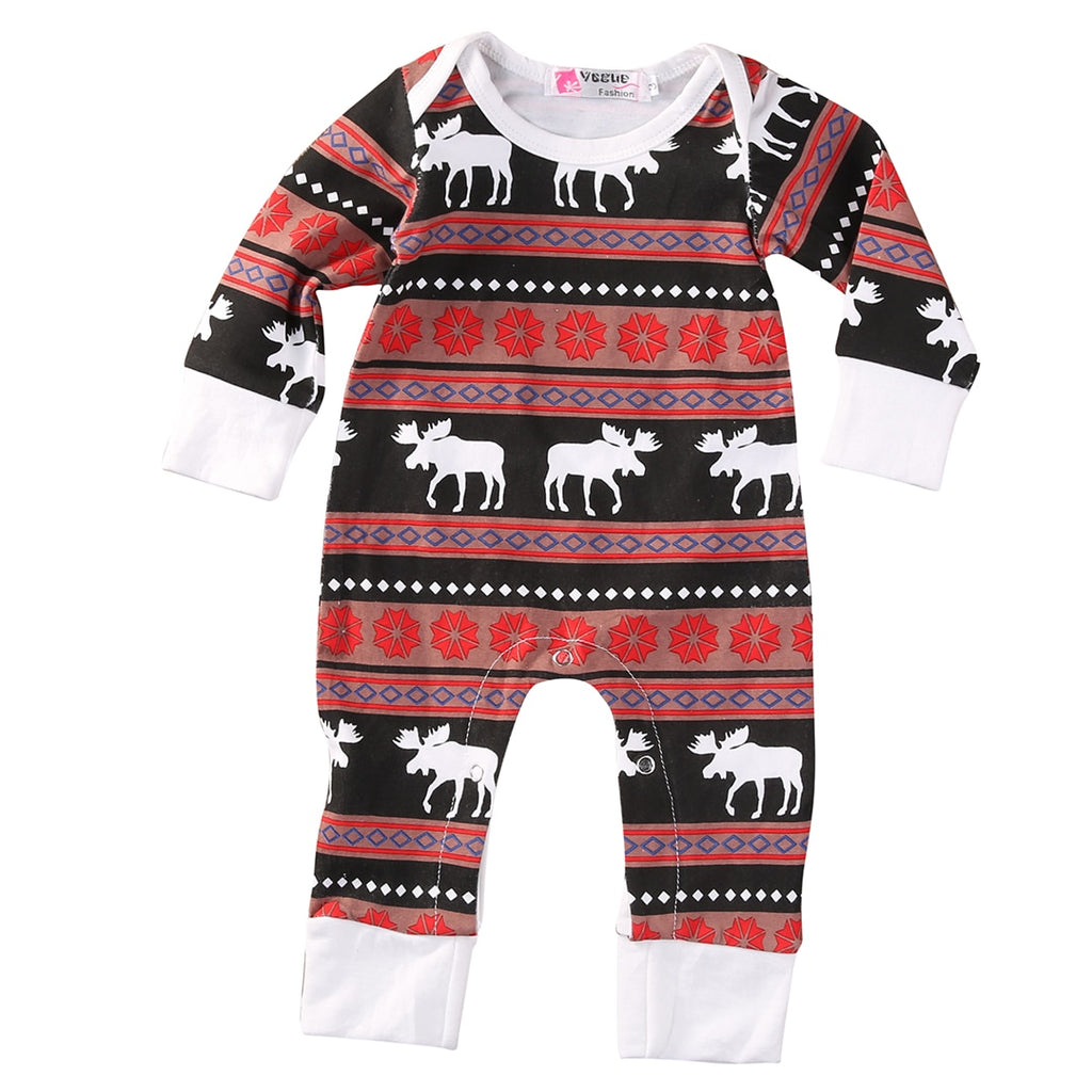 CHRISTMAS 'MOOSE' JUMPSUIT