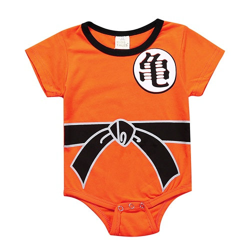 Dragon Ball Inspired Baby Outfit