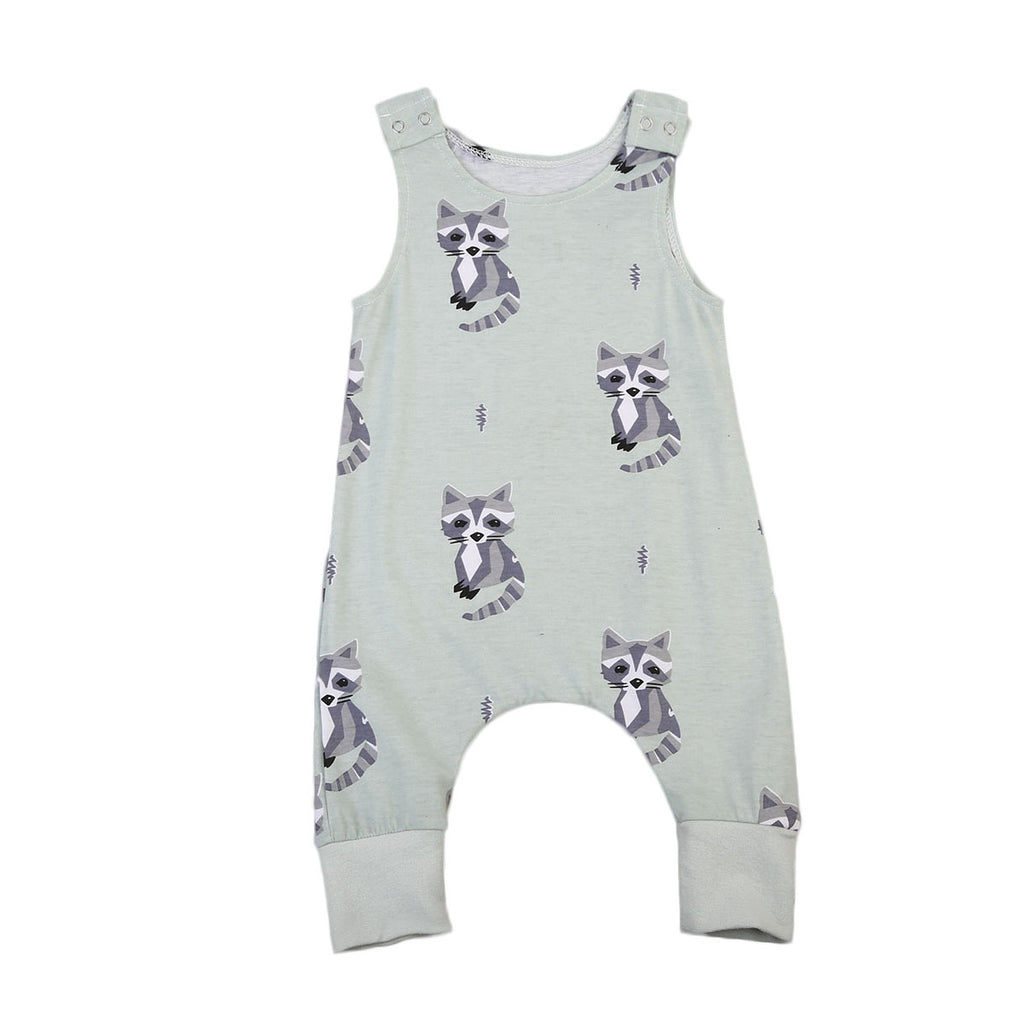 Raccoon Romper