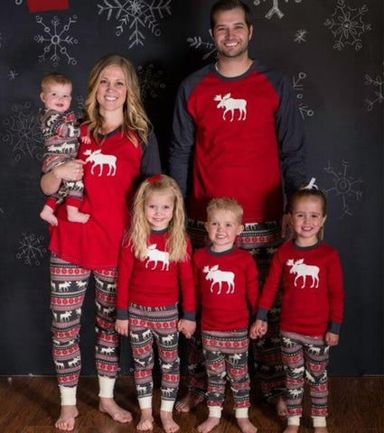 Exquisite Christmas Season Family Pajamas
