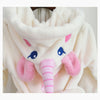 Image of Unicorn Bathrobes For Mom and Kids