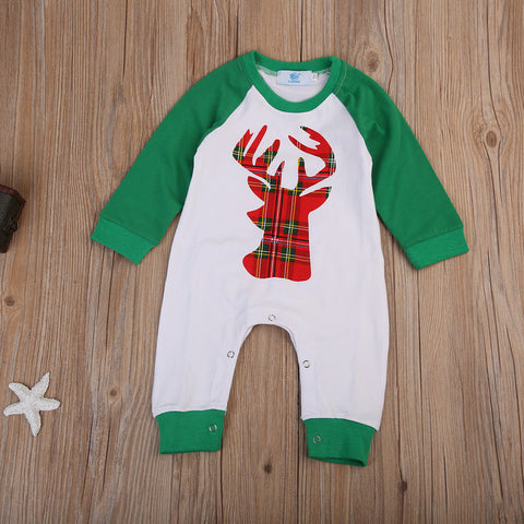 Deer Long Sleeve Jumpsuit