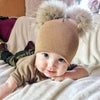 Image of MUMMYANDME BOBBLE BEANIE SET