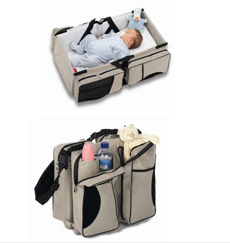 Multipurpose Baby Travel Bed Bag & Organizer