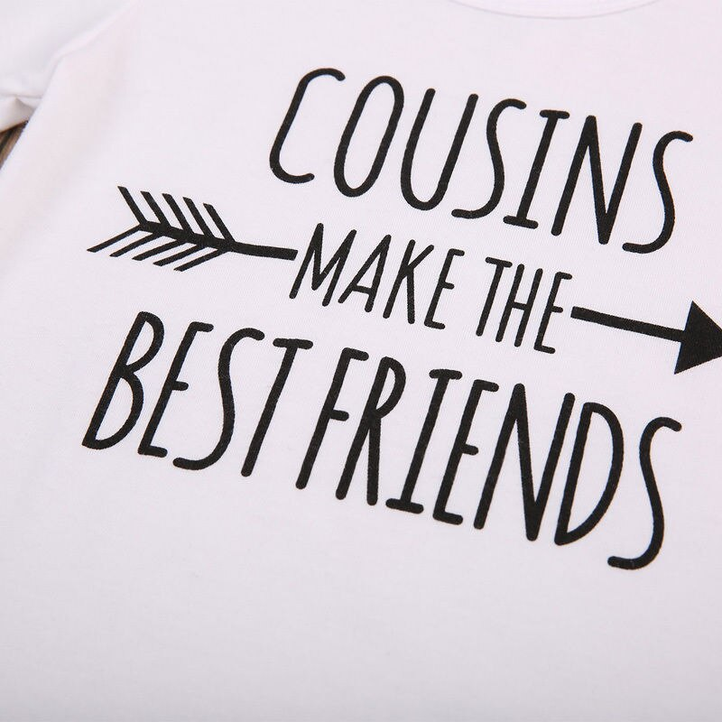 """Cousins Make The Bestfriends"" Romper"