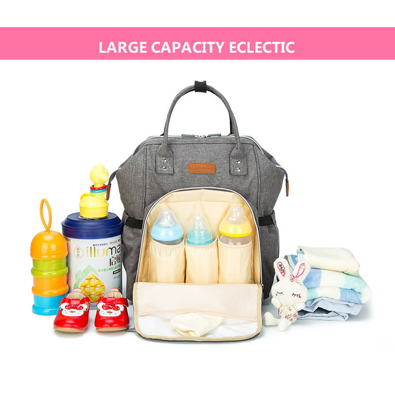 MUMMY TRAVEL MATERNITY NAPPY DIAPER BAG BACKPACK