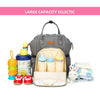 Image of MUMMY TRAVEL MATERNITY NAPPY DIAPER BAG BACKPACK