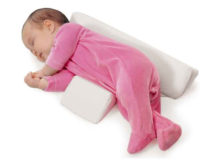 Baby Sleep Position Anti Roll Pillow