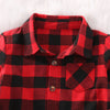 Image of The Ultimate Red Plaid 'Hipster' Button-Up Shirt
