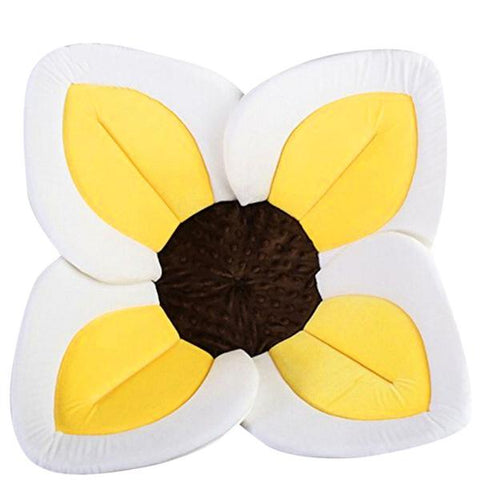 BLOOMING WATERFLOWERS FOLDABLE BATH MAT