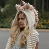 Image of Knitted Unicorn Hats with Scarf Set Winter Windproof