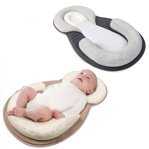 Protective Anti-Flathead Portable Baby Bed