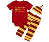 Image of Adorable Baby Romper (3PCS/Set)