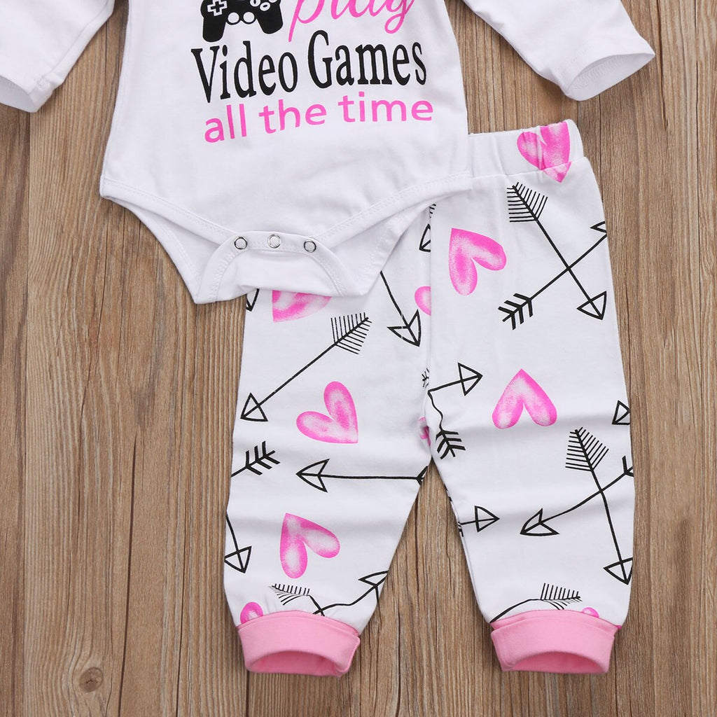 """I'm Proof That Daddy Doesn't Play Games All The Time"" Outfit"