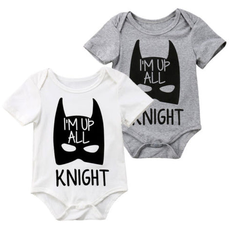 """I'm Up All Knight"" Romper"