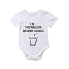 "Image of ""I'm The Reason Mommy Drinks"" Romper"